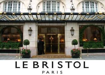Le Bristol Entrance France Palace Hotel